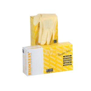 Latex Handschoenen Ongepoederd Maat L A 100 St