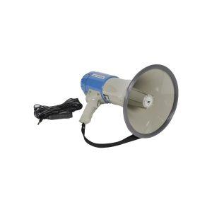 Megafoon TM-25 25W Exclusief 4x LR14 Batterijen